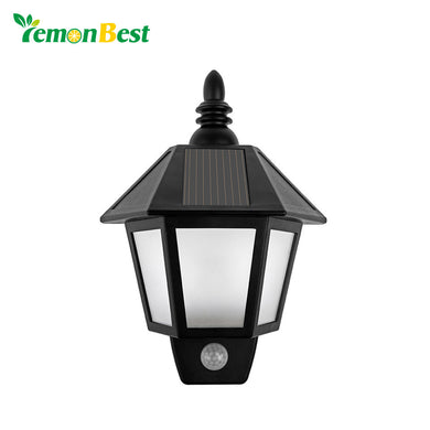 LemonBest Waterproof LED Solar Motion Sensor Light.