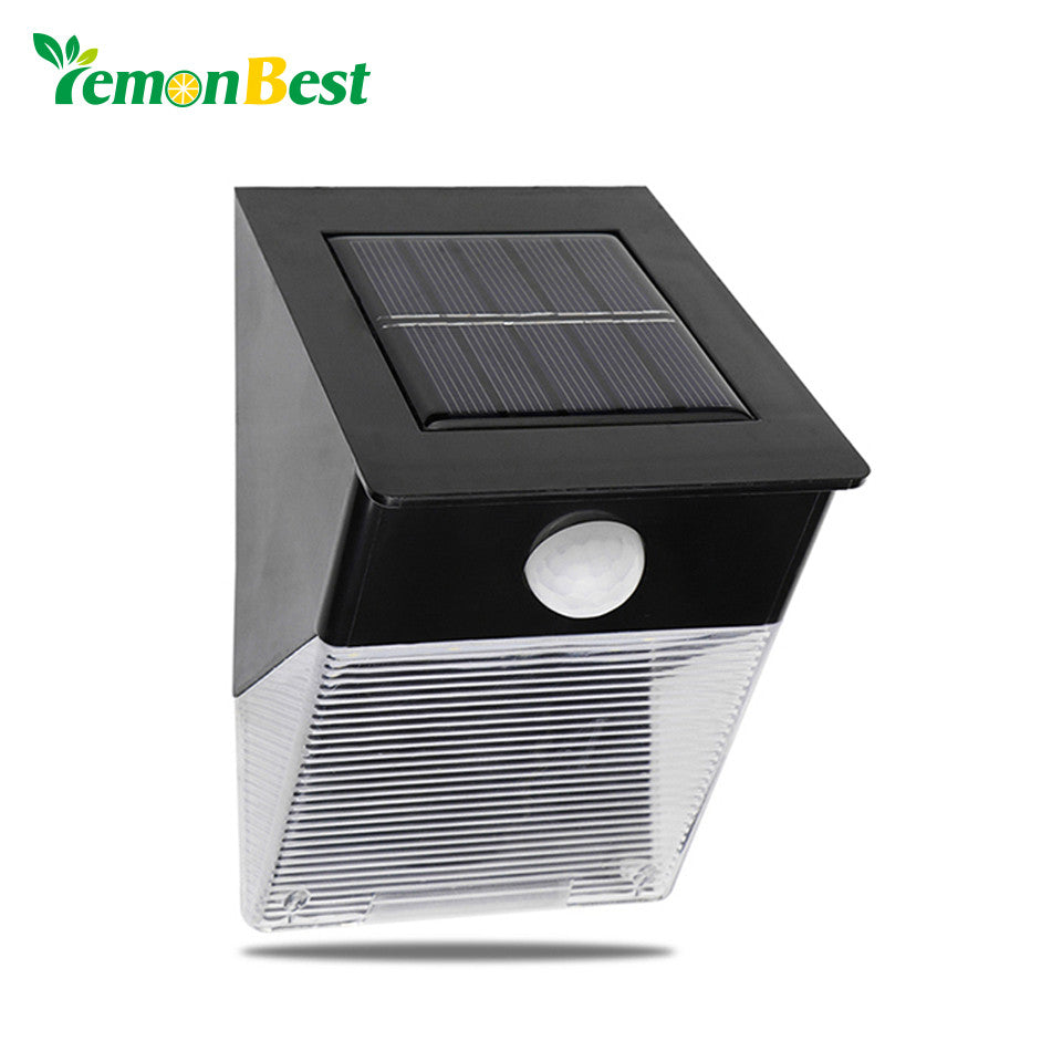 LemonBest Waterproof LED Solar Garden Light with Motion Sensor.
