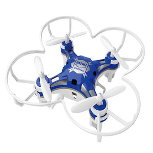 Children's Toy Pocket Drone with Remote Control Transmitter Mini Quadcopter RC helicopter Blue