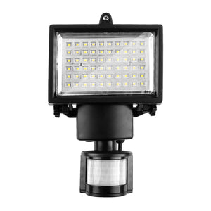 60 LED Solar Power Panel Motion Light Security Lamp with PIR for Driveway, Porches, Decks & Sheds