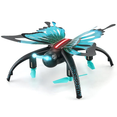 H42WH Butterfly Shaped 480P RC Quadcopter with  WIFI Phone Control Remote Control.