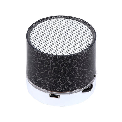 Portable Mini Wireless Bluetooth Speaker with LED and Build-in Mic