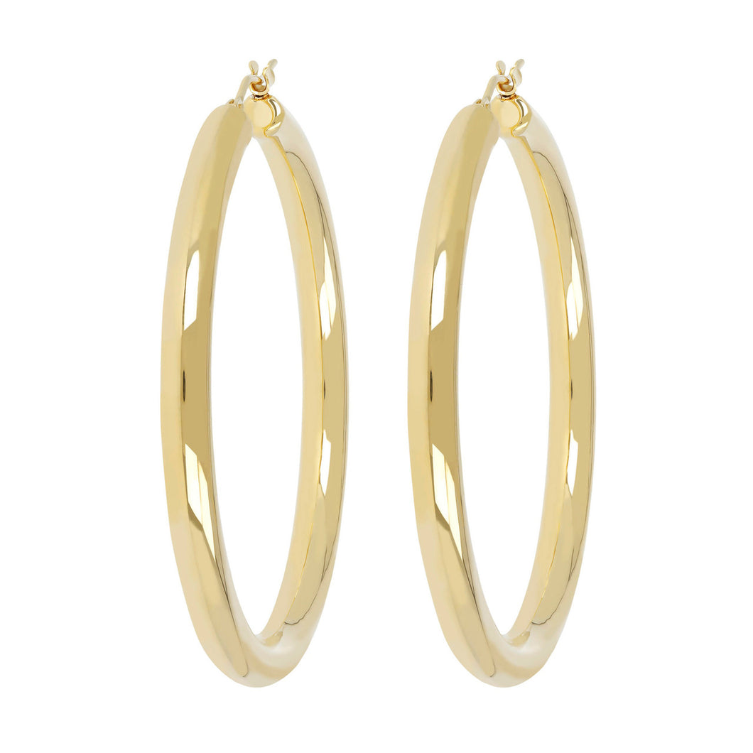 BIG HOOP EARRINGS - WSRE00094 front and side