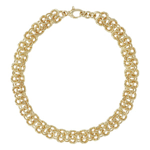 "BOLD 20"" BYZANTINE NECKLACE - WSRE00071"
