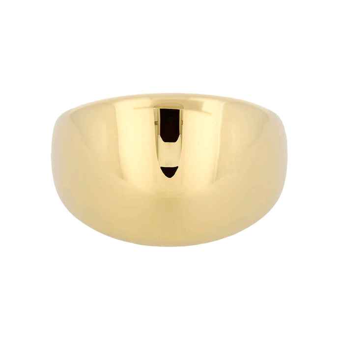 BOLD BOMBE ROUNDED BAND RING - WSRE00032