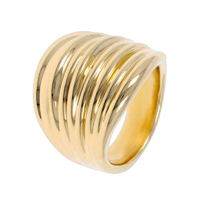 BOLD GRADUATED BAND RING - WSRE00028
