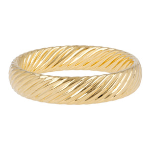 BOLD TORCHON  BANGLE - WSRE00050
