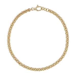 DOUBLE ROLO LINK NECKLACE - WSRE00106