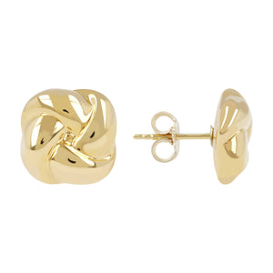 KNOT BUTTON EARRINGS - WSRE00080