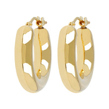 MINI HOOP EARRINGS  - WSRE00066 front and side