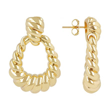 OVAL DROP DANGLING EARRINGS  - WSRE00065