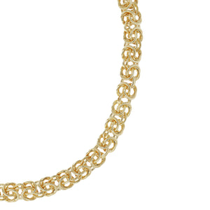 REFINED BYZANTINE NECKLACE - WSRE00076 from above