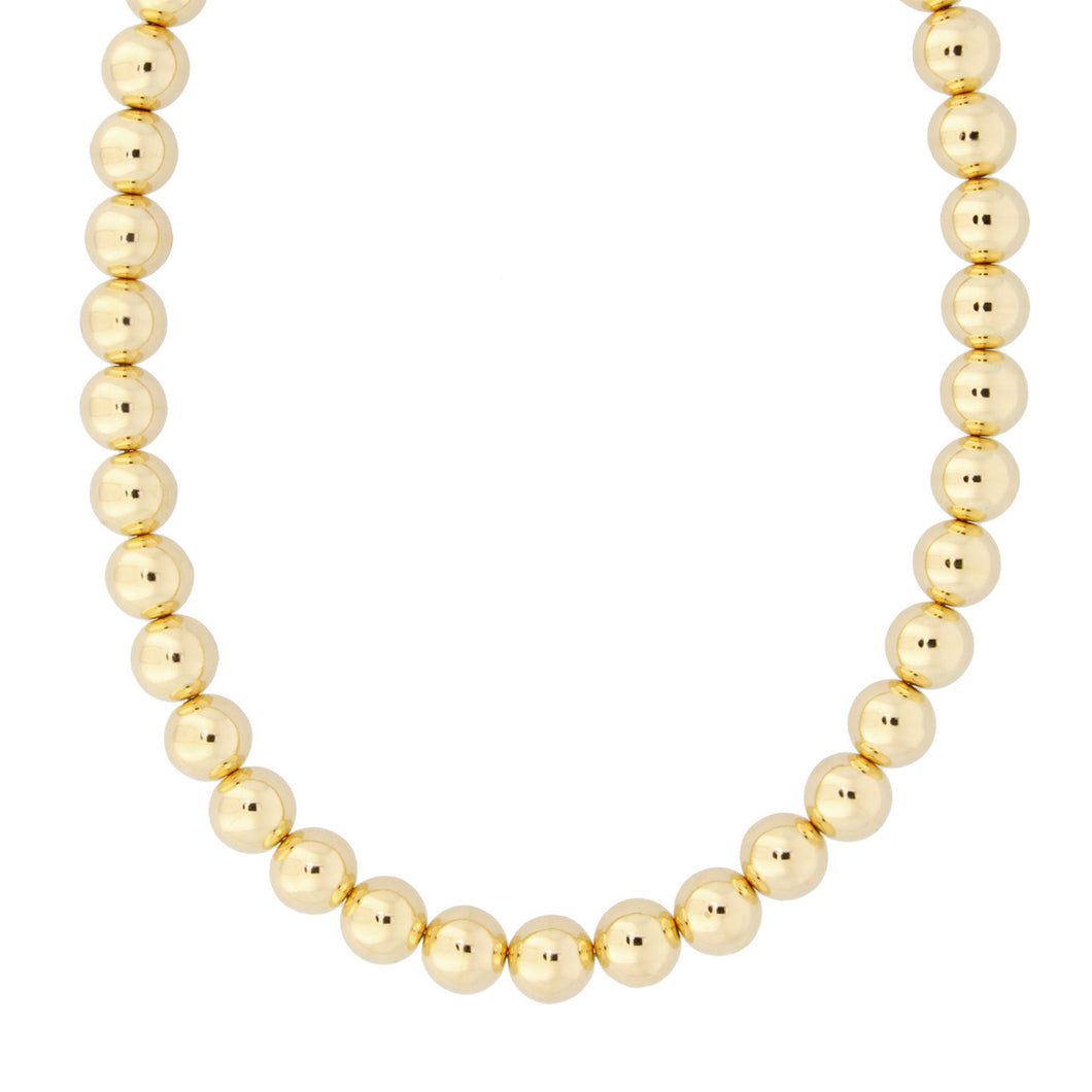 ROUND BEAD NECKLACE - WSRE00034 from above