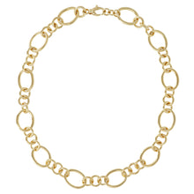 SMALL & LARGE OVAL LINK NECKLACE - WSRE00072