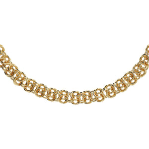 TRADITIONAL BYZANTINE NECKLACE - WSRE00108 from above