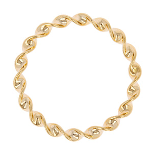 TWISTED SLIP-ON BANGLE - WSRE00046 side