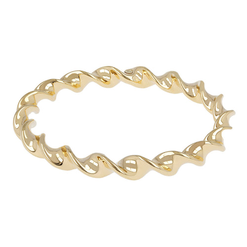 TWISTED SLIP-ON BANGLE - WSRE00046