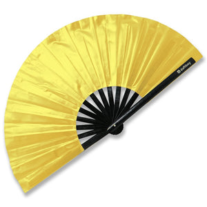 Beyond Basic Metallic Gold Fan