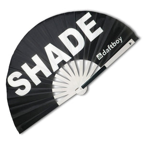 Shade Fan with Metal🛡Ribs