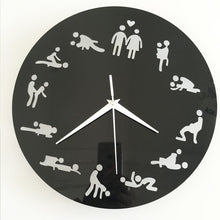 Load image into Gallery viewer, Sex Positions Wall Clock