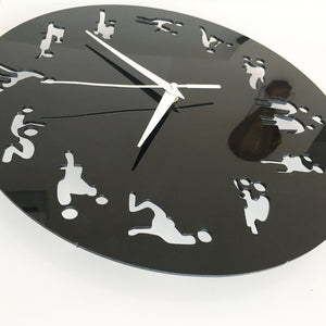 Sex Positions Wall Clock