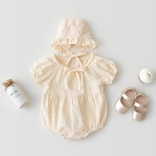 Load image into Gallery viewer, Bohemian Onesie and Bonnet Newborn set