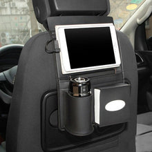 Load image into Gallery viewer, Car Seat Back Charging Cable Storage Bag