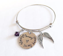 Load image into Gallery viewer, Memorial bracelet - Remembrance jewelry - Mom