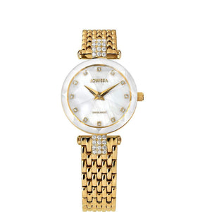 Facet Strass Swiss Ladies Watch J5.633.S