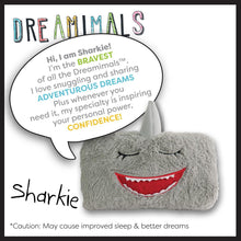 Load image into Gallery viewer, NEW DREAMIMALS SHARKIE- Loves ADVENTURE dreams!