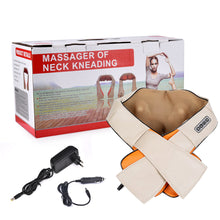 Load image into Gallery viewer, Back Neck Shoulder Massager U Shape Electrical