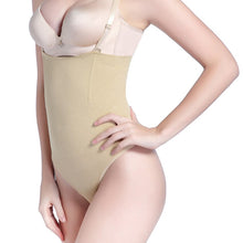 Load image into Gallery viewer, Body Shaper Slimming High Waist Firm Control Thong