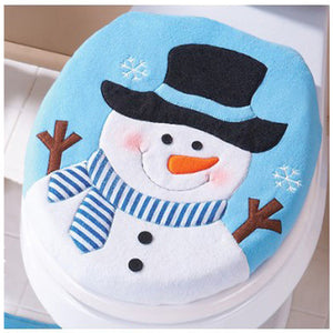 Christmas Decoration Christmas Snowman Lid Single