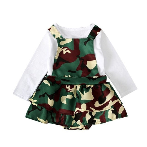 Cute Kids Clothes Toddlers Baby Girls White Solid