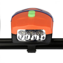 Load image into Gallery viewer, Cycling 3LED Bicycle Bike Light with Horn Bike