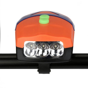 Cycling 3LED Bicycle Bike Light with Horn Bike