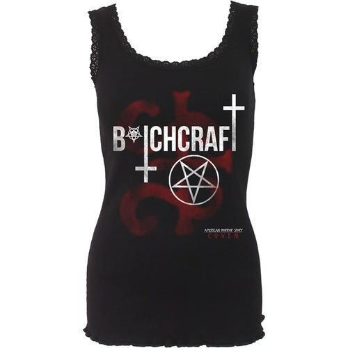 COVEN - BITCHCRAFT - AHS Crochet Collar Ribbed