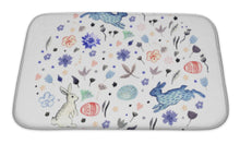 Load image into Gallery viewer, Bath Mat, Watercolor Easter Illustration