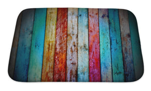 Bath Mat, Vintage Wood