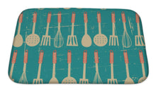 Load image into Gallery viewer, Bath Mat, Retro Kitchen Pattern