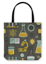Load image into Gallery viewer, Tote Bag, Pattern Education And Science