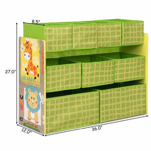 Kids Toys Organizer Removable Bins Chest