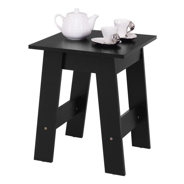 Modern Wood End Table Accent Coffee Table