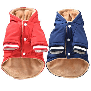 High Quality Dog Clothes Quilted Dog Coat Water