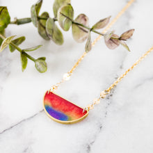 Load image into Gallery viewer, Mood Swings Necklace- Rainbow