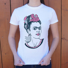 Load image into Gallery viewer, Frida Kahlo Quote T-Shirt (Ladies)