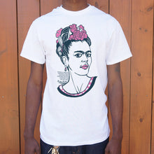 Load image into Gallery viewer, Frida Kahlo Quote T-Shirt (Mens)