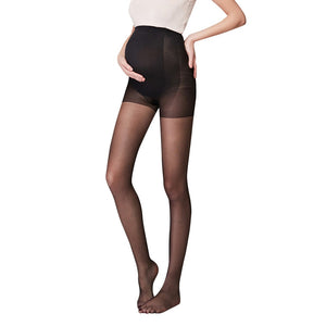 Maternity Tights Pregnancy Pantyhose Solid Piece