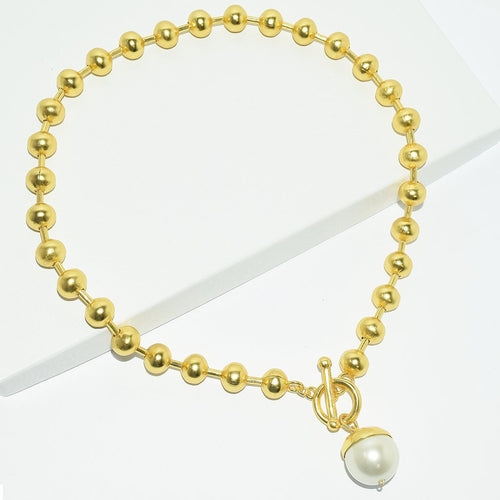 Mariela pearl drop necklace