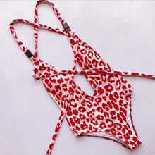 Load image into Gallery viewer, New Arrival Women Leopard Bikini Push-Up Padded